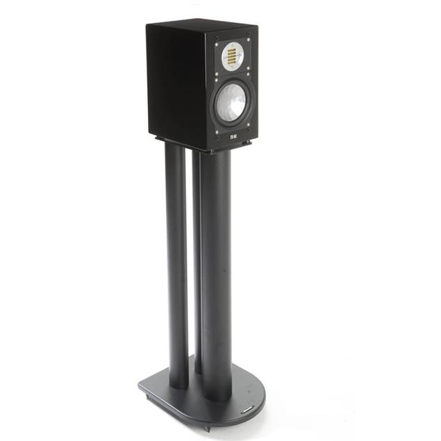 Atacama HMS 1.1 - high mass loudspeaker stands (700 mm / for heavy load / black / top plates = 145 mm width + 210 mm depth / 3 support columns per stand / 1 pair)