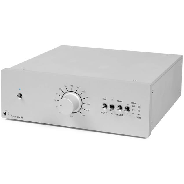 Pro-Ject Phono Box RS - high end phono preamplifier (MM/MC / silver)