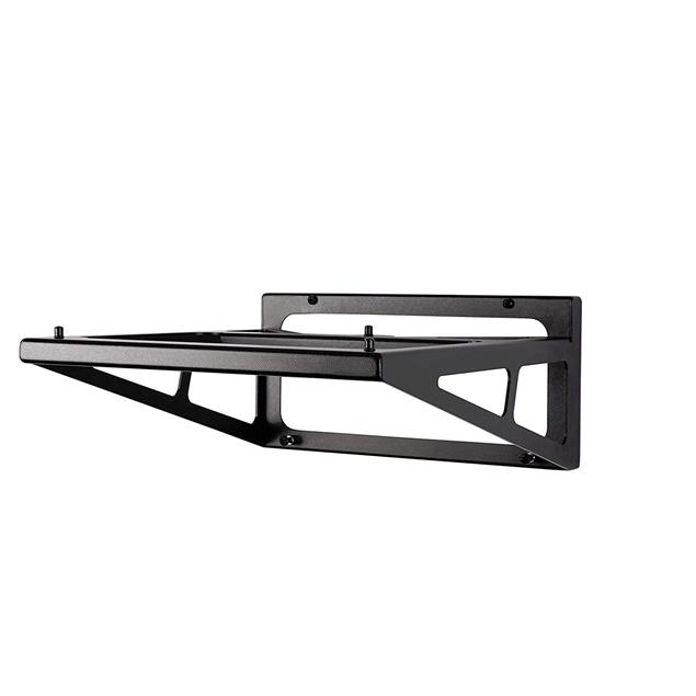 Rega wall mount for record players (suitable for Planar 1-3, Planar 6 and many older Rega models / made of aluminum / 1.0 kg / black)