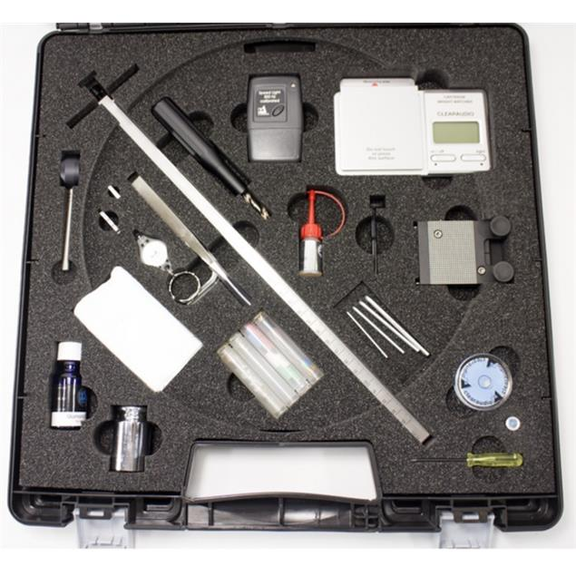 Clearaudio Professional Analogue Tool Kit - record player settings tool set