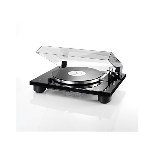 THORENS TD 206 - record player / turntable (incl. Thorens tonearm TP 90 / MM cartridge TAS 267 / high-gloss black)