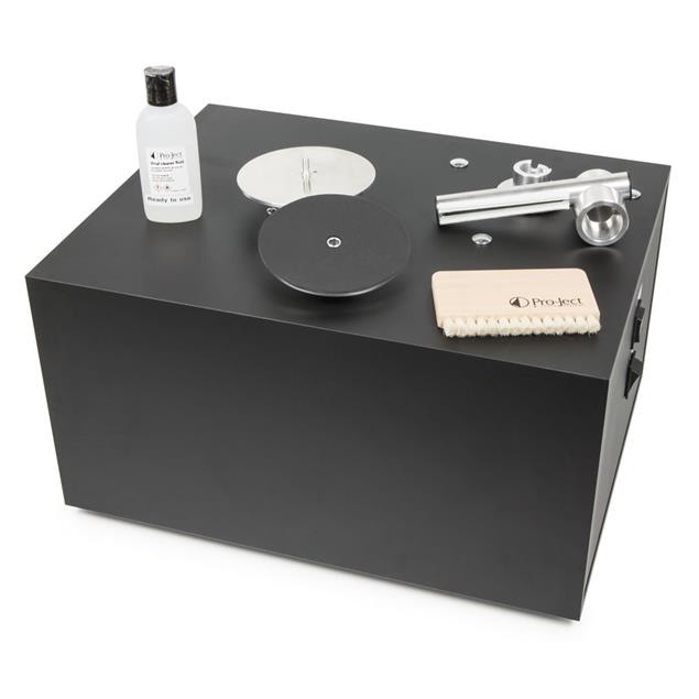 Pro-Ject Vinyl Cleaner VC-S - record cleaning machine for vinyl & 78rpm shellac records (800 Watt / 10,5 kg / 230 V / black)