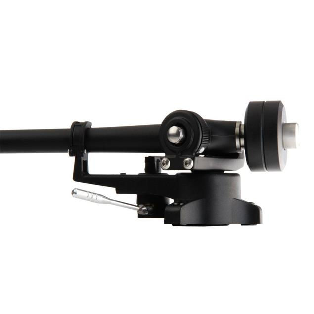 Transrotor ZET 1 - high-end record player + TR800-S - tonearm + Uccello - MM cartridge + ALU support weight (black high gloss)