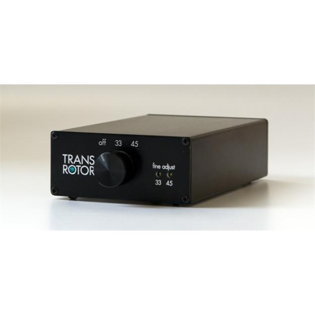 Transrotor KONSTANT STUDIO - power supply with switchover 33/45 (incl. fine adjustment / black)