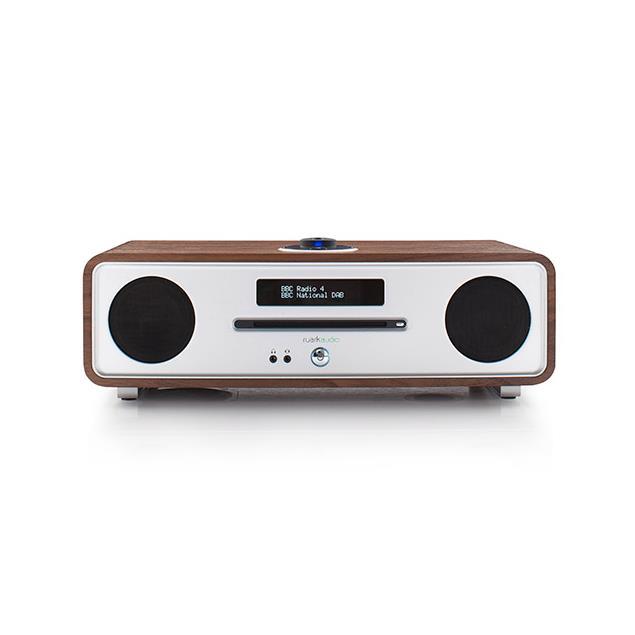 ruarkaudio R4 MKIII - sound system (DAB / DAB+ / FM tuner / USB / Apt-x-Bluetooth / walnut real wood veneer)