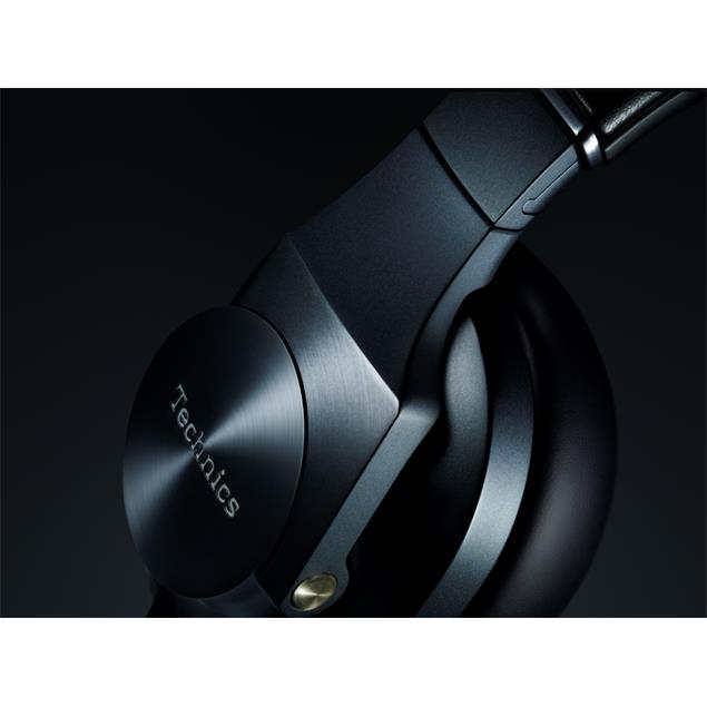 Technics EAH-T700 - premium stereo headphones (dynamic 50 mm driver / 1500mW power handling (IEC) / incl. various cables & connectors / black)