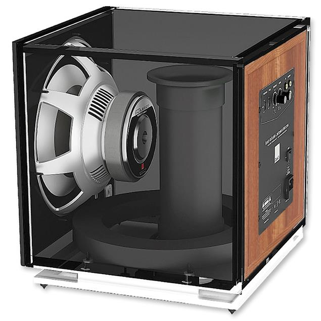 DALI SUB E-9 F - active subwoofer (170-220 W / light walnut)