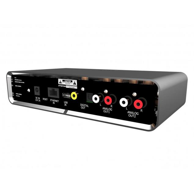 Elac Discovery Music Server D S-S101-G - streaming client - RRP = 1.099,- Euro - exhibitor