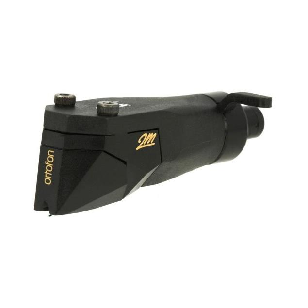 Ortofon 2M Black PnP MkII - MM cartridge for turntables (black / Moving Magnet / plug & play headshell with built-in cartridge / for moderate tonearm)