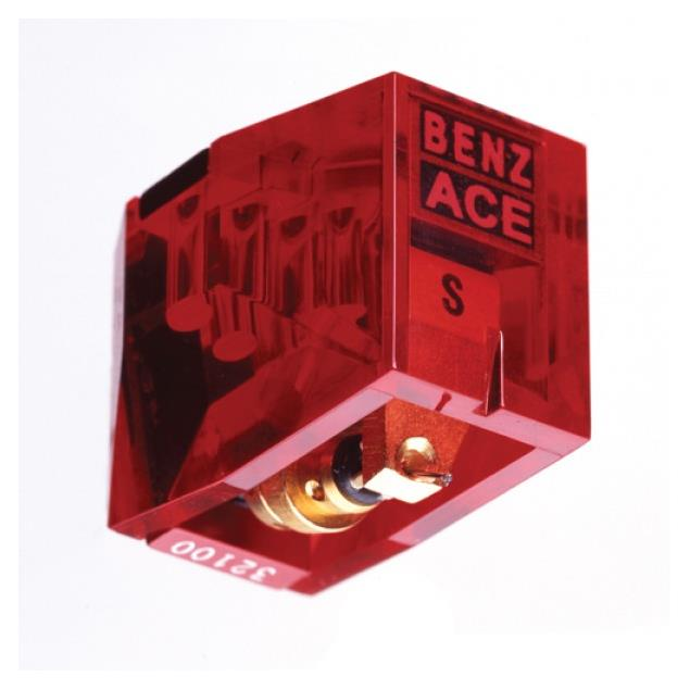 Benz Micro ACE S (L) - MC cartridge for turntables (L = Low Output / Micro Ridge Diamant / gold coloured / Moving Coil)