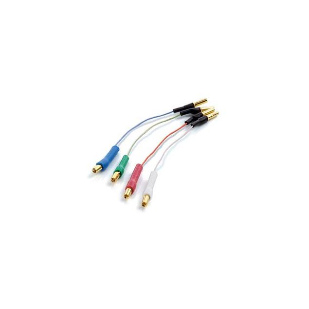 Clearaudio headshell cable set (made from OFC copper / each 50 mm long)