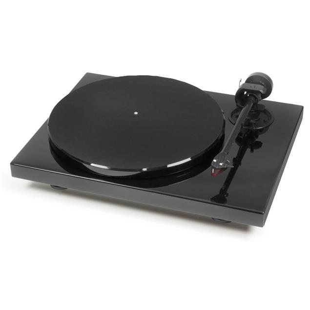 """Pro-Ject Xpression Carbon - manual record player incl. Evo tonearm + Ortofon 2M Red MM cartridge (gloss black / with 8.6"""" tonearm / incl. dust cover)"""