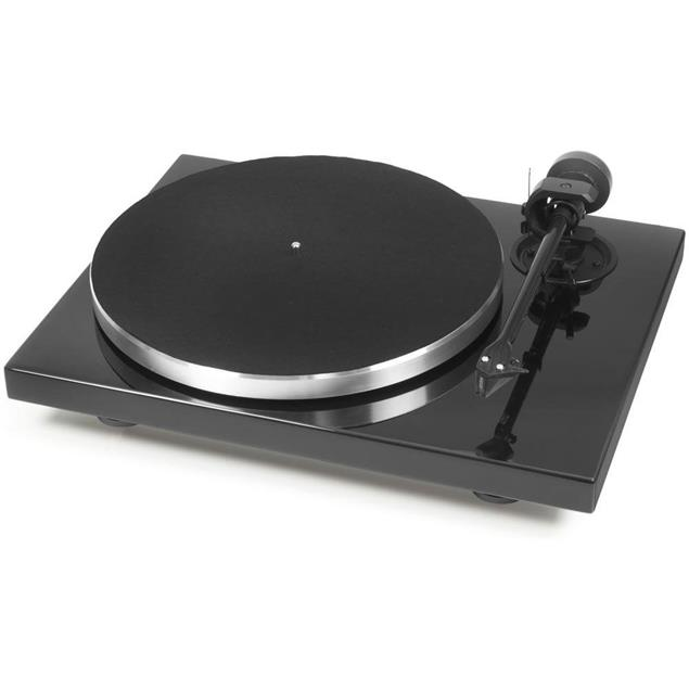 """Pro-Ject Xpression Carbon Classic - manual record player incl. Evo tonearm + Ortofon 2M Silver MM cartridge (gloss black / with 8.6"""" tonearm / + dust cover)"""