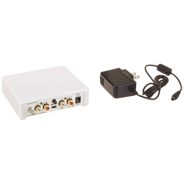 Pro-Ject Record Box E - phono preamplifier (MM/MC / incl. D/A converter / USB / white)