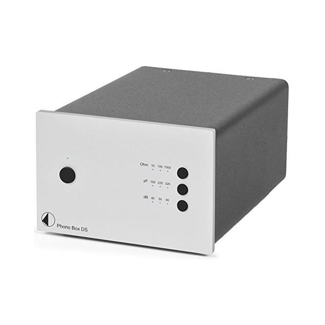 Pro-Ject Phono Box DS - premium phono preamplifier (MM/MC / silver)