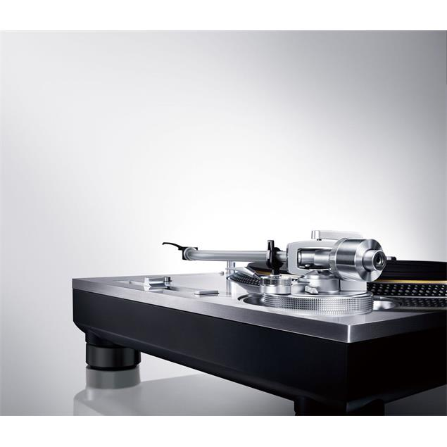 Technics Grand Class SL-1200G - directly driven record player (silver / without pickup)