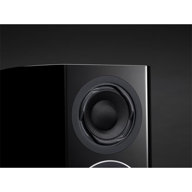 Technics SB-R1 - 3,5-Way bass reflex floorstanding loudspeakers - reference speaker system (300 Watts max. input power / coaxial / high-gloss black / 1 pair)