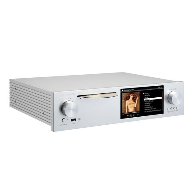 Cocktail Audio X50 without hard drive (silver / All-in-One HD music server / preamplifier with XLR / phono pre)