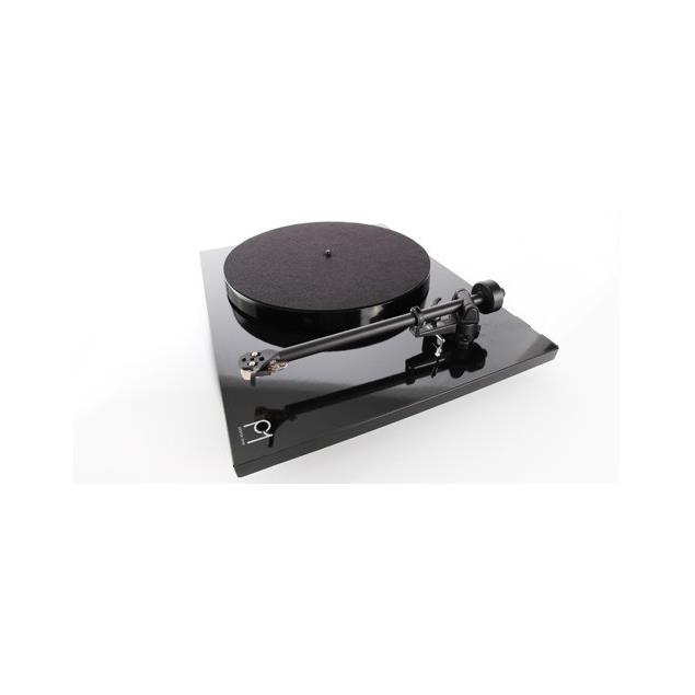 Rega Planar 1 - record player with Rega RB110 tonearm and Rega CARBON MM cartridge (high-gloss black / 2016 version)