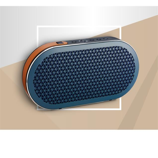 "DALI Katch - battery powered Bluetooth loudspeaker (in ""Dark Shadow"" = dark blue / 2x 25 W / 2600 mAh internal battery with ca. 24 hours of untethered playback / Bluetooth 4.0 aptX)"