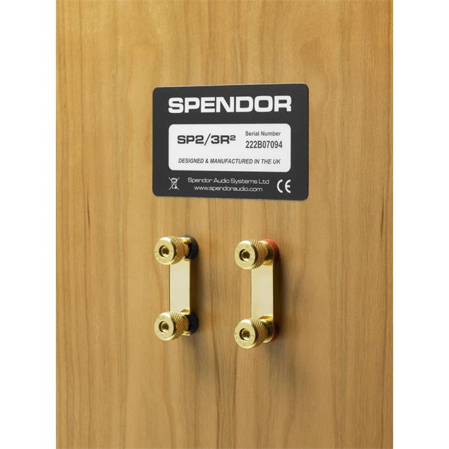 Spendor SP 2/3 R2 - 2-way bookshelf loudspeaker (125 W / cherry wood / 1 piece)