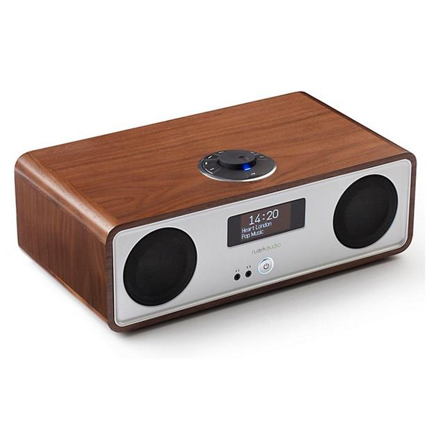 ruarkaudio R2 MKIII - sound system (DAB / DAB+ / FM tuner / USB / Apt-x-Bluetooth / walnut real wood veneer)