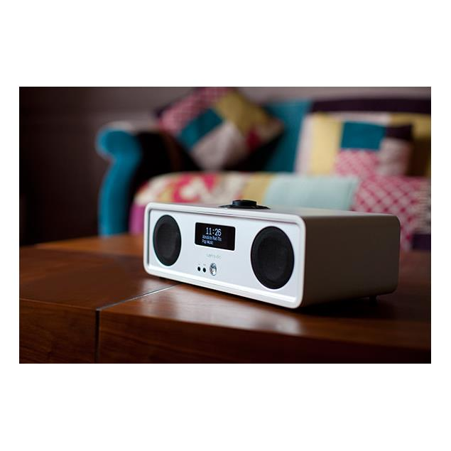 ruarkaudio R2 MKIII - sound system (DAB / DAB+ / FM tuner / USB / Apt-x-Bluetooth / fine matt white soft lacquer)