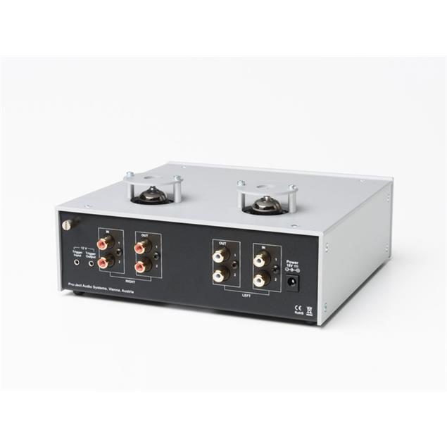 Pro-Ject Tube Box DS2 - tube phono preamplifier (MM/MC / silver)