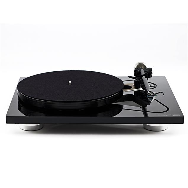 Rega RP8 - record player with RB808 tonearm and Apheta 2 - MC cartridge (high gloss piano black / incl. tonearm RB808 / external power supply / incl. dust cover)