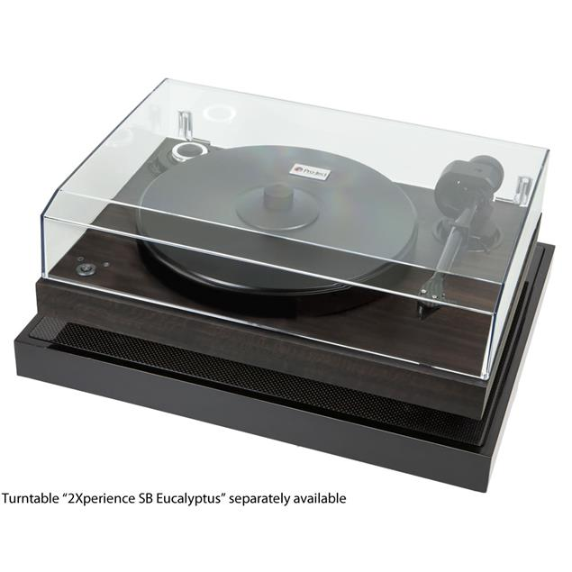 Pro-Ject Ground it Carbon - heavy equipment base filled with granular damping for various record players (incl. 4 magnetic decoupling feet)