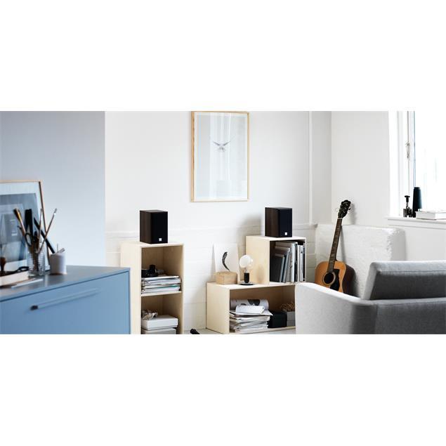 DALI Spektor 1 - 2-Way bass reflex bookshelf-loudspeakers (40-100 Watts / light walnut / 1 pair)