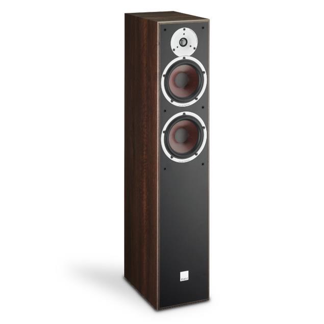 DALI Spektor 6 - 2-Way bass reflex floorstanding loudspeakers (30-150 Watts / light walnut / 1 pair)