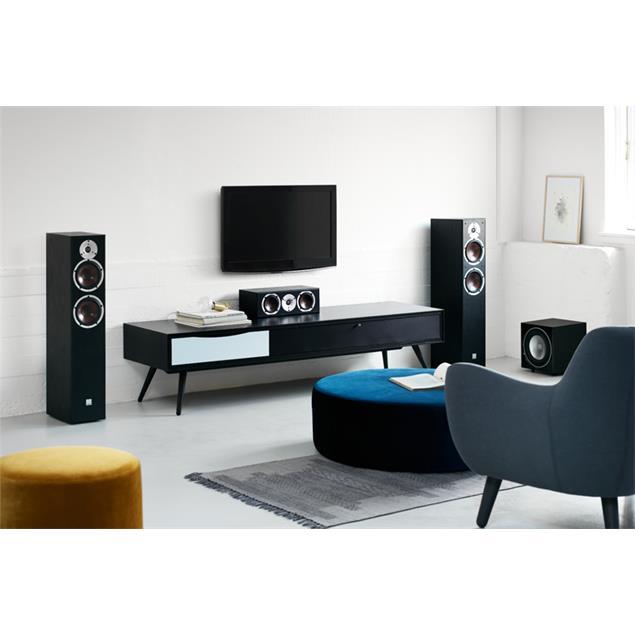 DALI Spektor Vokal - 2-Way bass reflex centerspeaker (40-120 Watts / black ash)