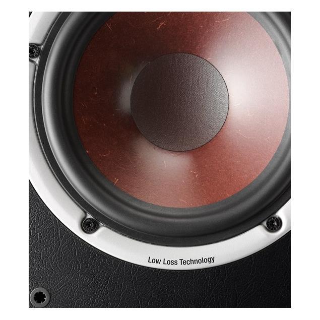 DALI Spektor VoKal - 2-Way bass reflex centerspeaker (40-120 Watts / light walnut)