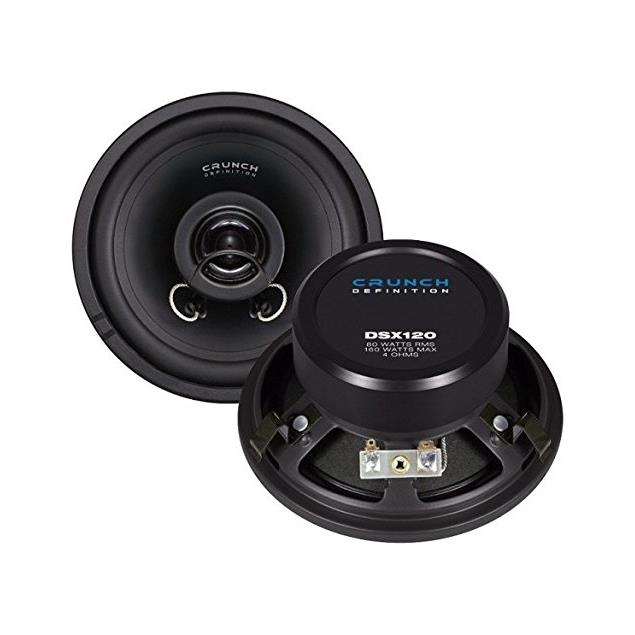 CRUNCH DSX120 - 2-Way coaxial loudspeakers (160 Watts / 1 pair)