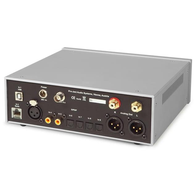 Pro-Ject DAC Box RS - high end digital/analog converter (DAC / silver)