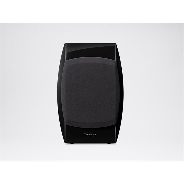 Technics SB-C700 - 2-Way bassreflex compact loudspeakers (100 Watts max. input power / coaxial / high-gloss black / 1 pair)