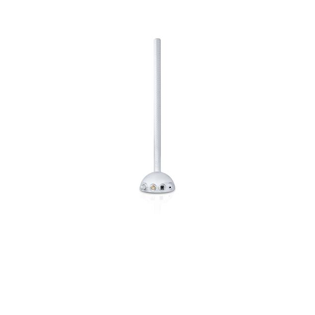 Oehlbach 17214 - Scope Max - rod antenna with omni-directional DVB-T/T2 reception (with adjustable amplifier / DVB-T / DVB-T2 HD / HDTV / full HD-Video / white)