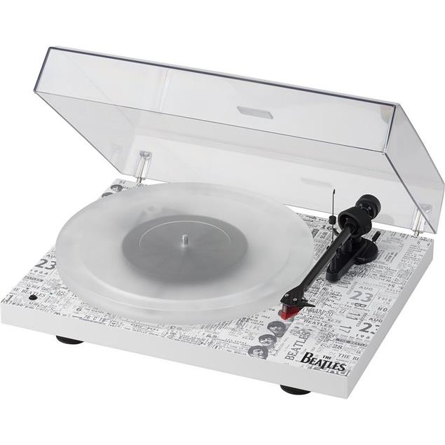 Pro-Ject The Beatles 1964 special edition of the Debut Carbon Esprit SB (DC) - record player incl. tonearm + Ortofon cartridge 2M Red (limited / incl. dust cover)
