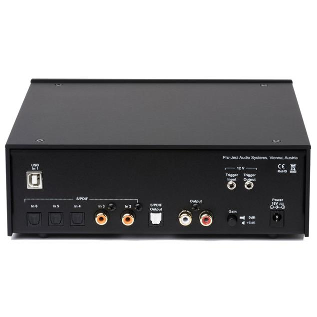 Pro-Ject DAC Box DS2 ultra - high-end digital/analog converter (DSD / USB 2.0 / black)