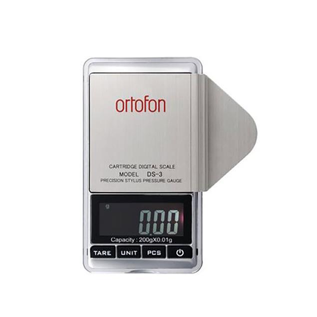 Ortofon DS-3 - high-precision digital tonearm balance (stylus pressure gauge for perfect adjustment for pickups)