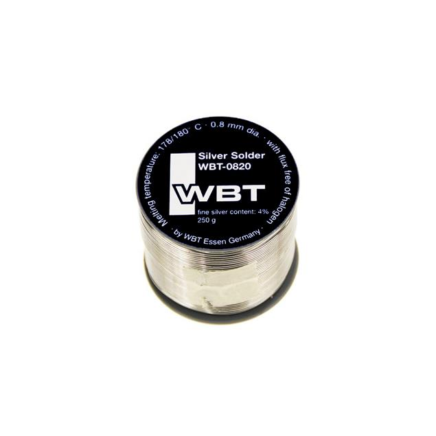 WBT - 0820 - Silver Solder (silver solder with lead / 250 g roll)