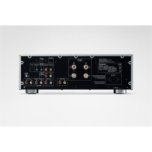 Technics SU-G700 - stereo integrated amplifier - reference amplifier (illuminated large level meter / high rigidity metal double chassis in silver)