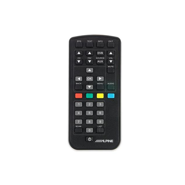 ALPINE TUE-T220DV - mobile digital TV receiver (DVB-T2 / incl. 2 antennas, remote control, HDMI output)
