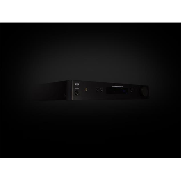 NAD C 338 - hybrid digital integrated amplifier (2 x 50 Watts / with Spotify Connect function / Hi-Res Audio / Bluetooth® aptX® / Chromecast built-in / graphite black housing)