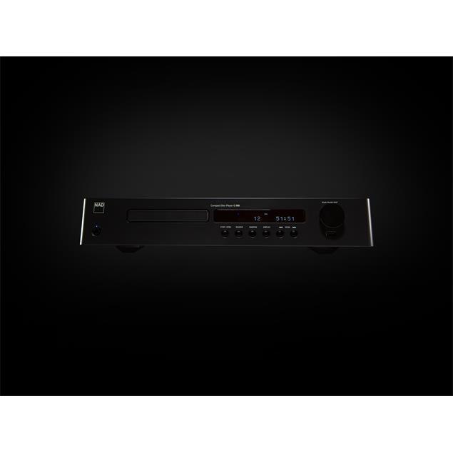 NAD C 568 - CD player (incl. D/A converter / graphite black housing)
