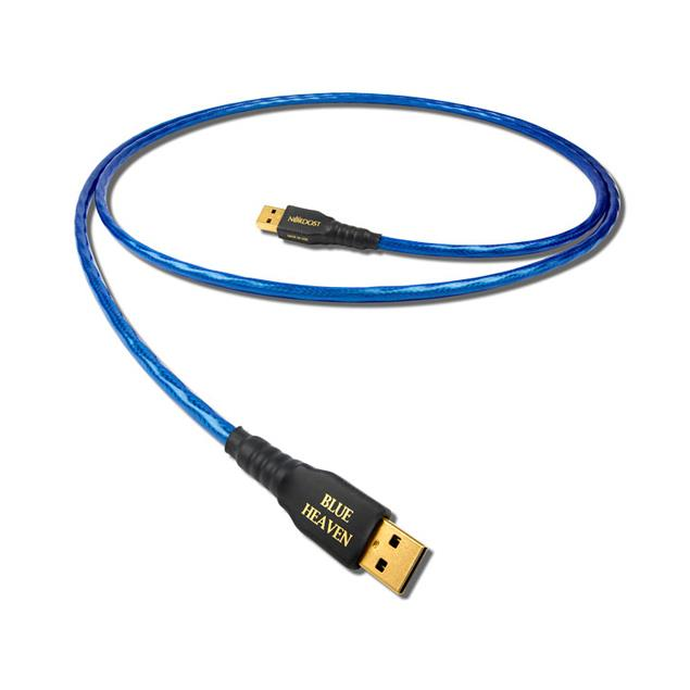 Nordost Blue Heaven - USB 2.0 cable (USB A to USB B / 2.0 m / blue)
