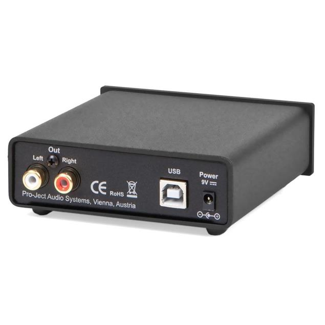 Pro-Ject USB Box S+ - premium computer audio with USB 2.0 (incl. D/A converter with USB-Input / black)