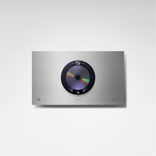Technics SC-C70 - premium all-in-one stereo compact system (with CD player / AirPlay / Bluetooth / USB / Tidal /DAB/DAB+/FM / incl. remote control / black housing with silver top)