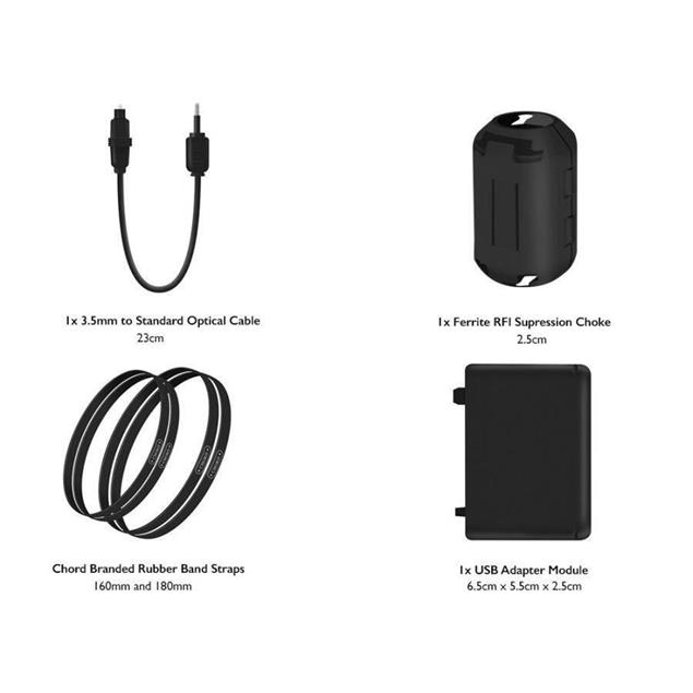 Chord Electronics Mojo cable pack - cable set (accessory set with 10 cables)